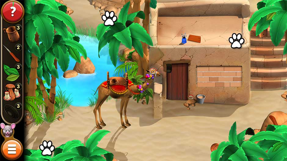 Mortimer Beckett and the Book of Gold - Mouse Locations Level 49