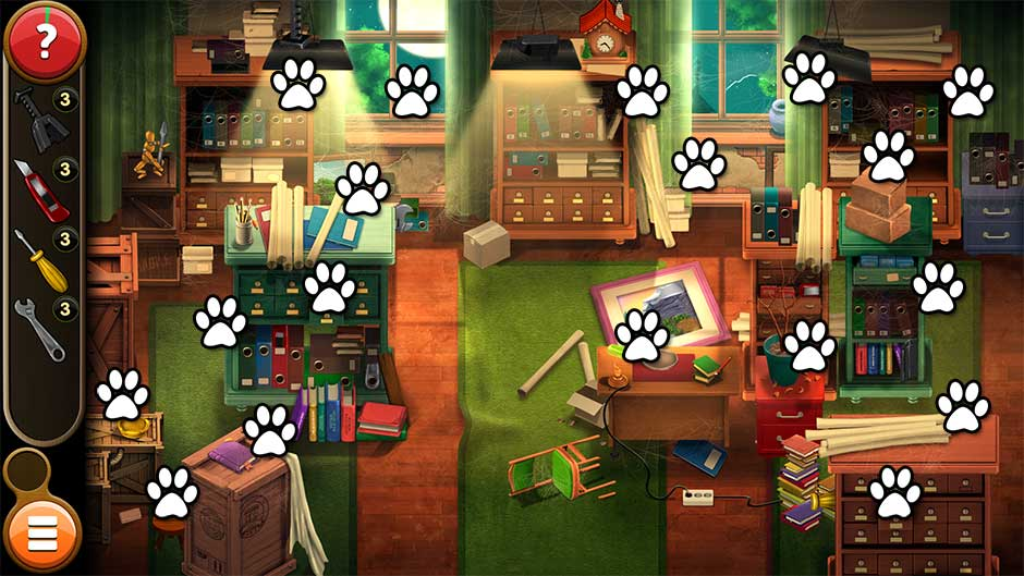 Mortimer Beckett and the Book of Gold - Mouse Locations Level 5