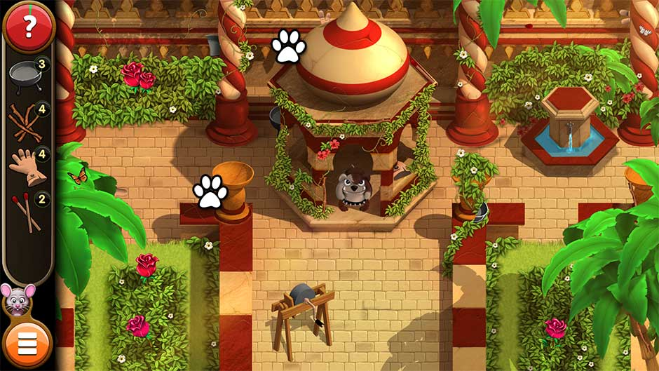 Mortimer Beckett and the Book of Gold - Mouse Locations Level 55