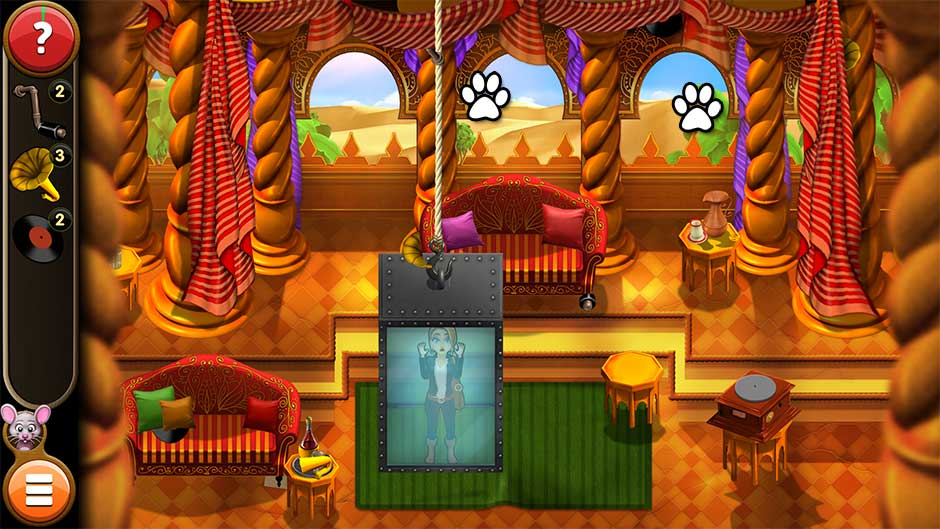 Mortimer Beckett and the Book of Gold - Mouse Locations Level 58