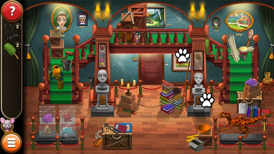 Mortimer Beckett and the Book of Gold - Mouse Locations Level 59
