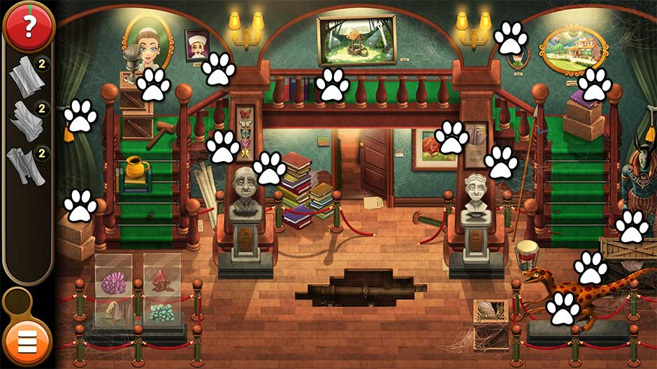 Mortimer Beckett and the Book of Gold - Mouse Locations Level 7