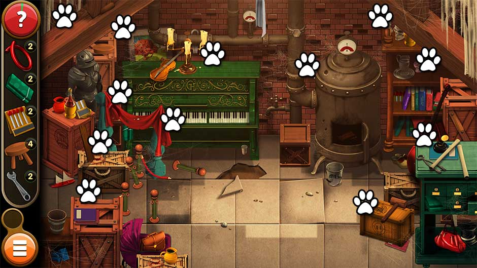 Mortimer Beckett and the Book of Gold - Mouse Locations Level 8
