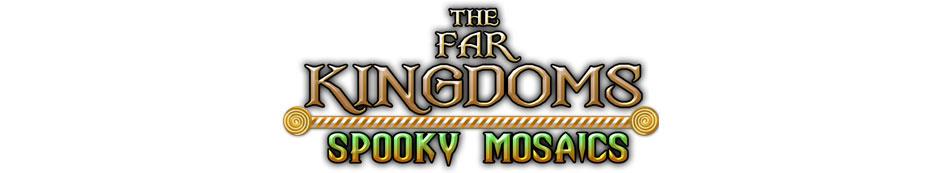 The Far Kingdoms - Spooky Mosaics Logo