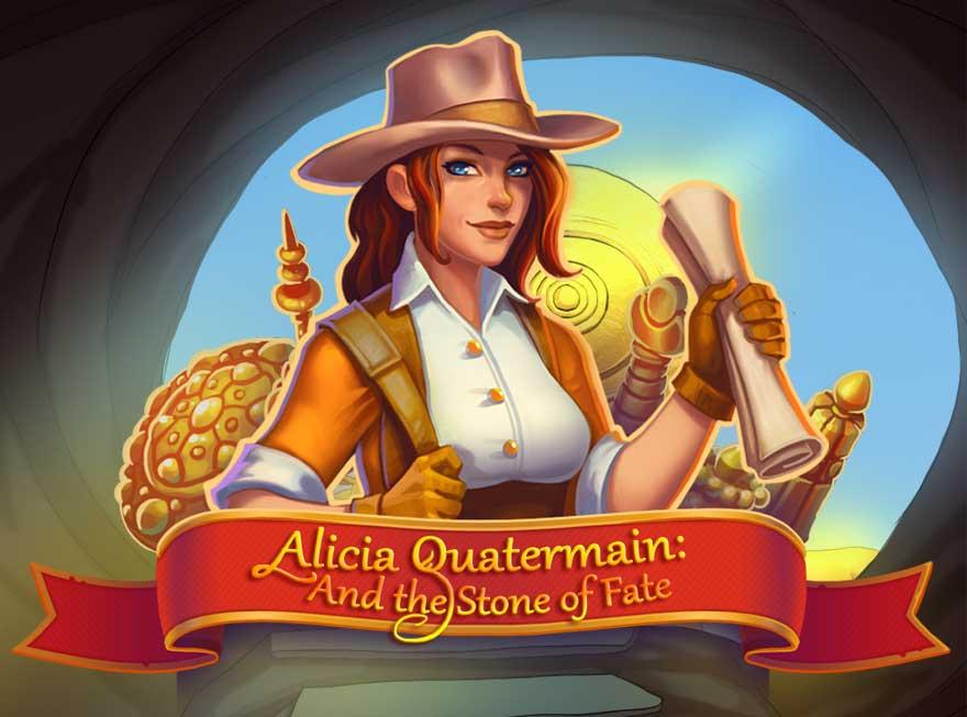 Destiny Calls in Alicia Quatermain and the Stone of Fate
