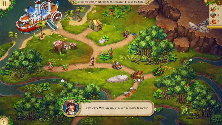 Alicia Quatermain and the Stone of Fate Platinum Edition_screenshot-1