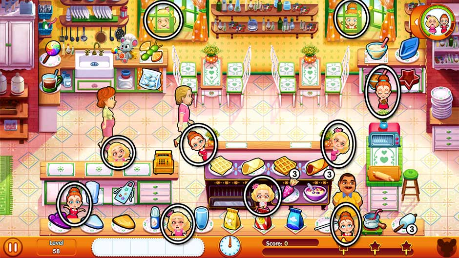 Delicious - Emily's Moms vs Dads Platinum Edition - Level 58