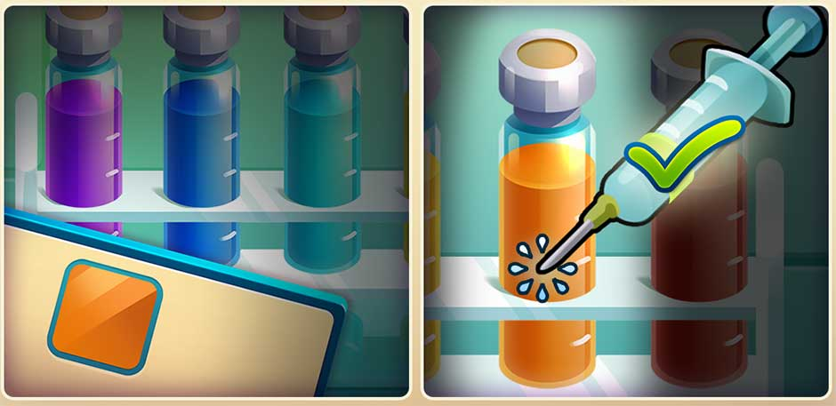 Parker & Lane - Criminal Justice - Minigame - Collect Chemicals!