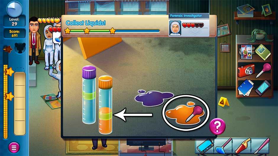Parker & Lane - Criminal Justice - Minigame - Collect Liquids!