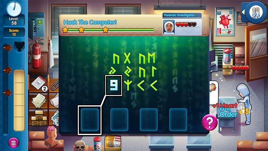 Parker & Lane - Criminal Justice - Minigame - Hack the Computer!