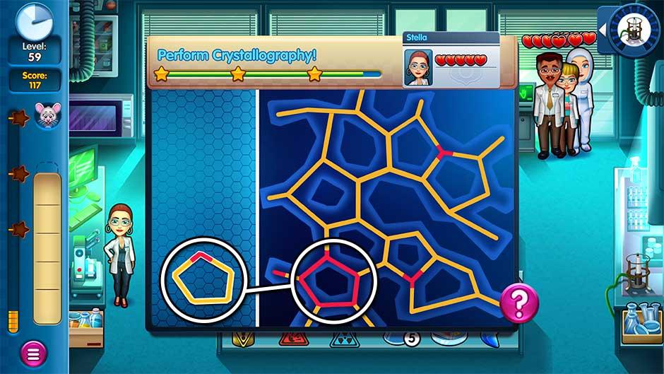 Parker & Lane - Criminal Justice - Minigame - Perform Crystallography!