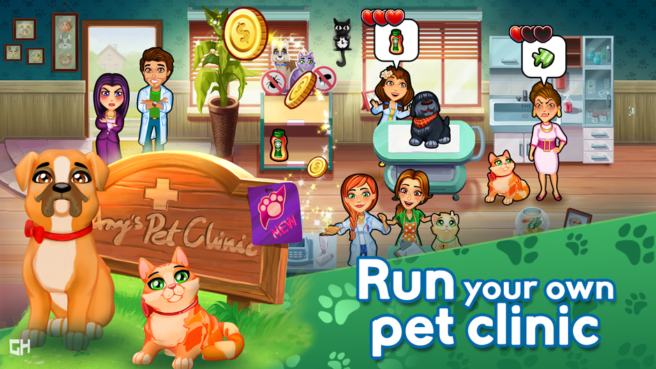 Dr. Cares - Amy's Pet Clinic Collector's Edition - GameHouse Screenshot-1