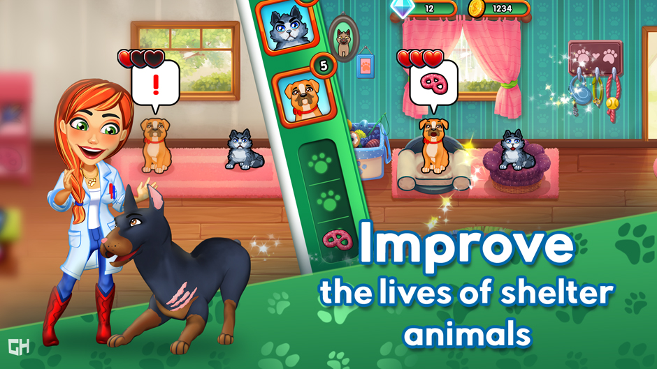 Dr. Cares - Amy's Pet Clinic Collector's Edition - GameHouse Screenshot-3