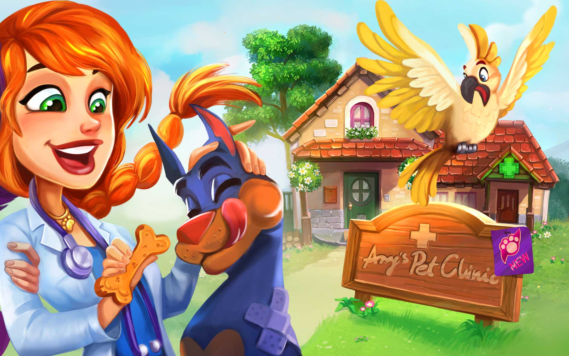 Dr. Cares - Amy's Pet Clinic Collector's Edition - GameHouse v2