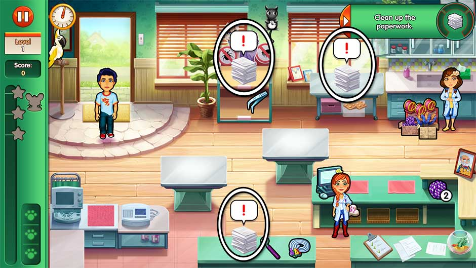 Dr. Cares - Amy's Pet Clinic - Level 1
