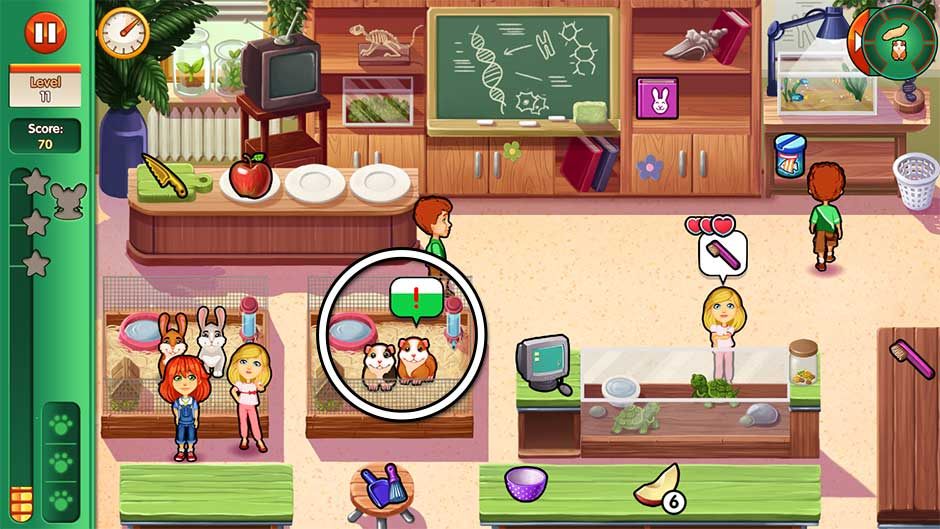 Dr. Cares - Amy's Pet Clinic - Level 11