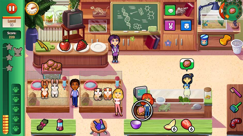 Dr. Cares - Amy's Pet Clinic - Level 16