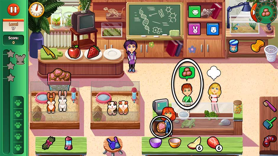 Dr. Cares - Amy's Pet Clinic - Level 17