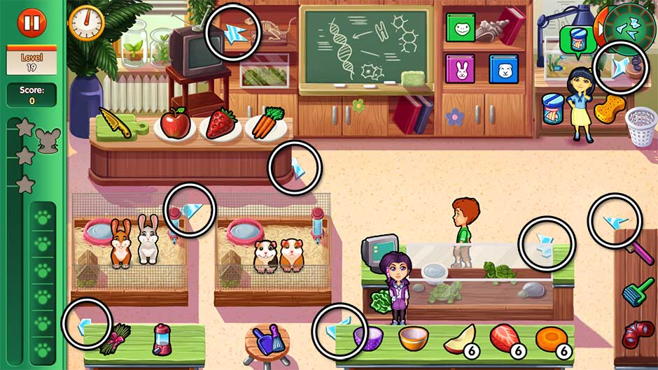 Dr. Cares - Amy's Pet Clinic - Level 19