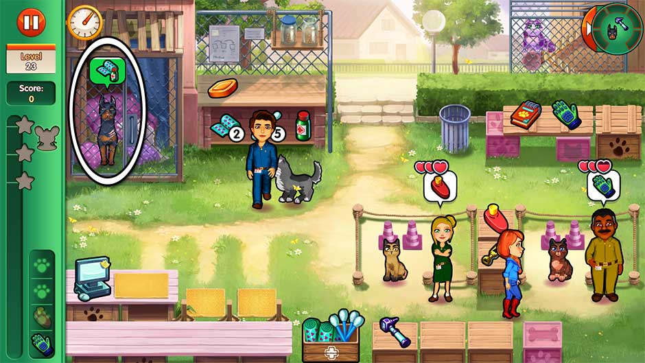 Dr. Cares - Amy's Pet Clinic - Level 23