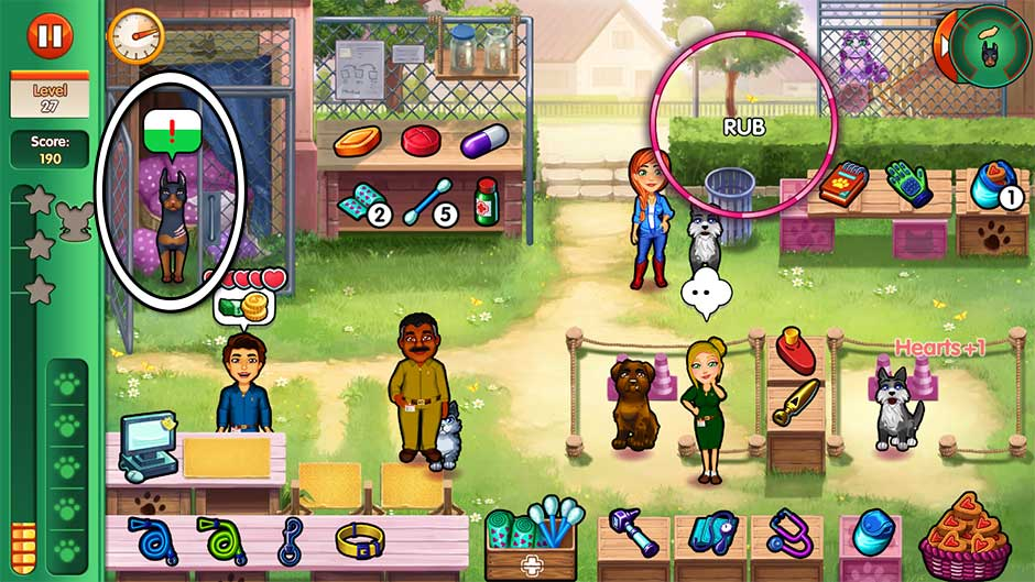 Dr. Cares - Amy's Pet Clinic - Level 27