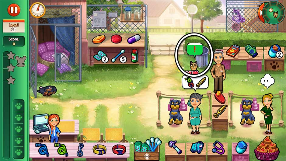 Dr. Cares - Amy's Pet Clinic - Level 28