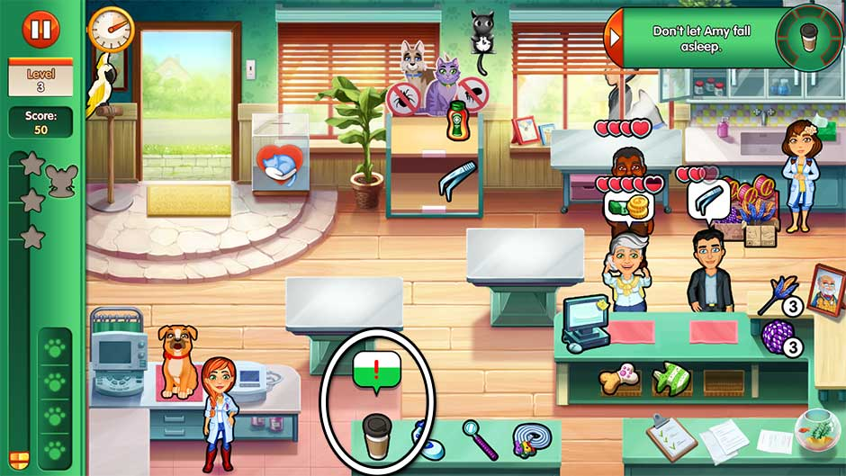 Dr. Cares - Amy's Pet Clinic - Level 3
