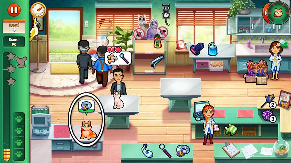 Dr. Cares - Amy's Pet Clinic - Level 4