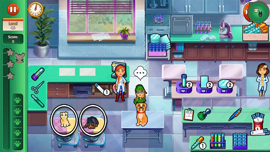Dr. Cares - Amy's Pet Clinic - Level 46