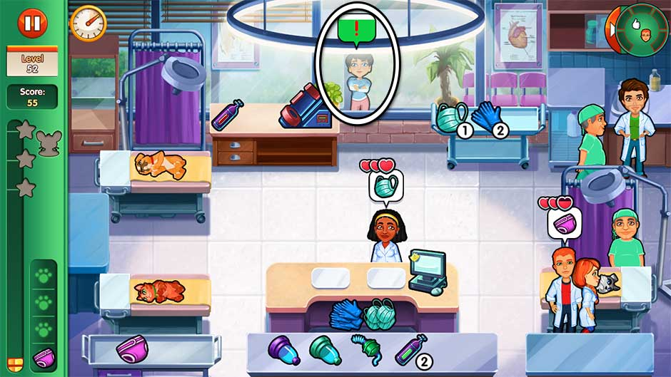 Dr. Cares - Amy's Pet Clinic - Level 52