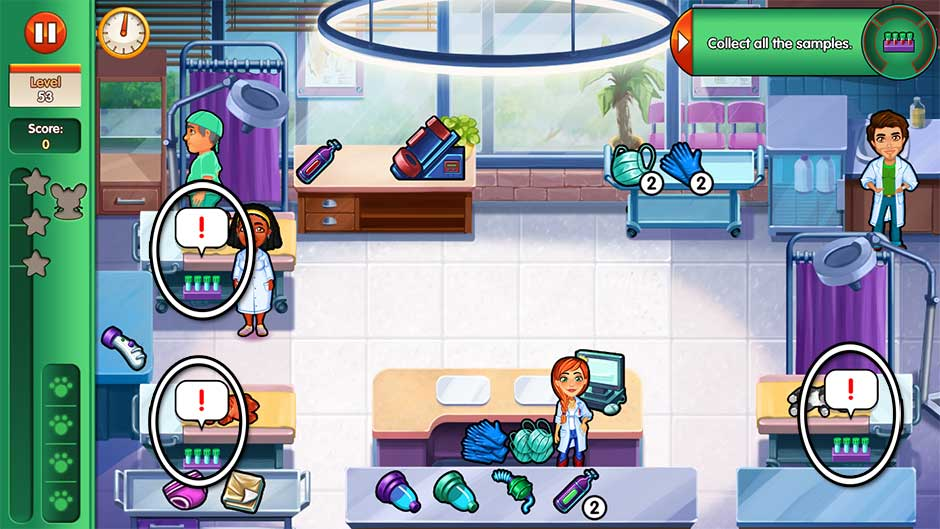 Dr. Cares - Amy's Pet Clinic - Level 53