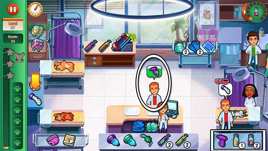 Dr. Cares - Amy's Pet Clinic - Level 57