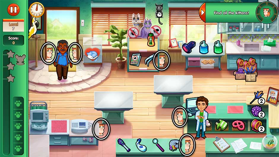 Dr. Cares - Amy's Pet Clinic - Level 7