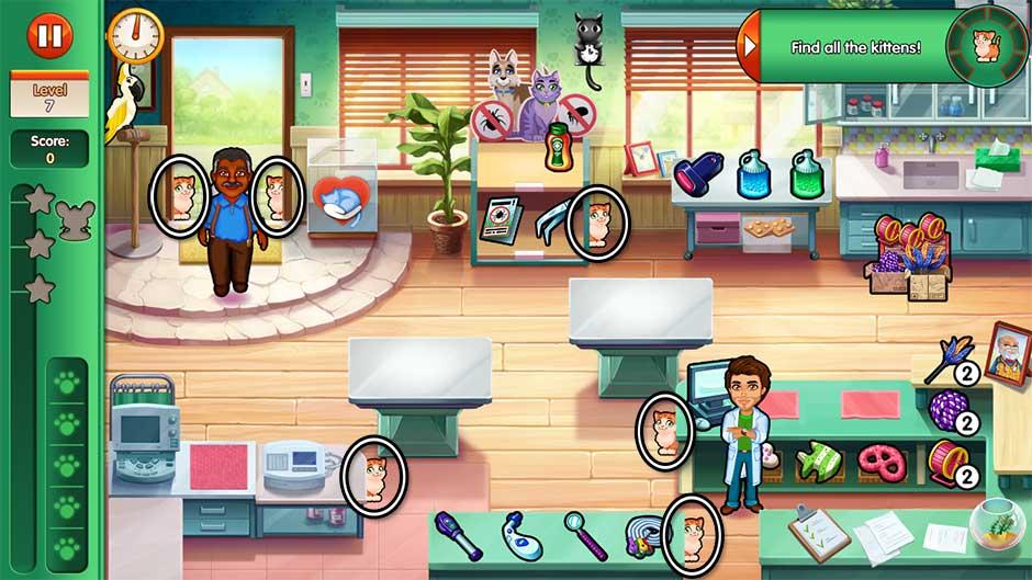 Dr. Cares - Amy's Pet Clinic - Level 7