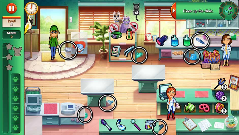 Dr. Cares - Amy's Pet Clinic - Level 8