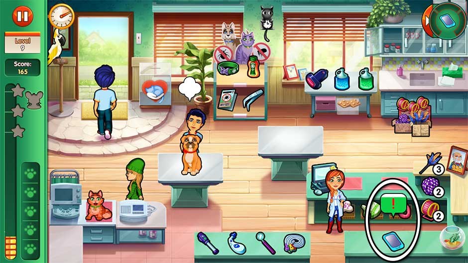 Dr. Cares - Amy's Pet Clinic - Level 9