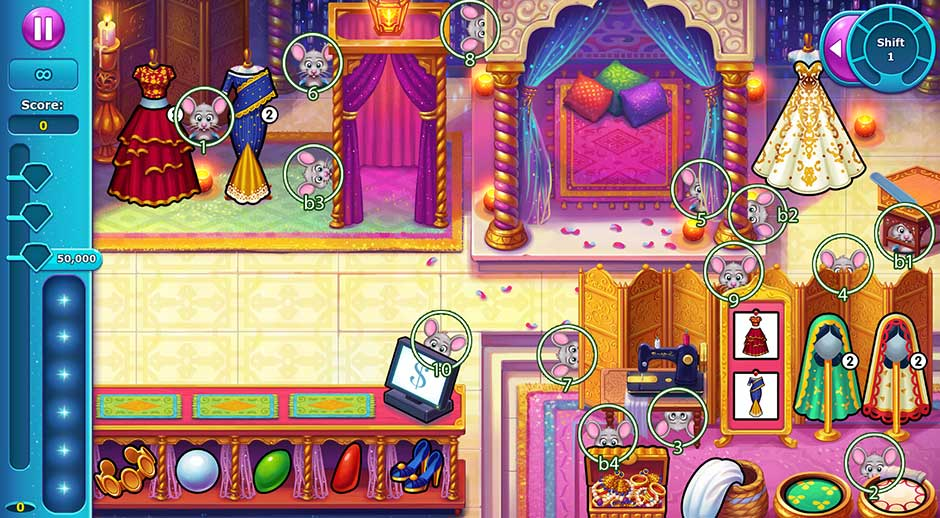 Fabulous - Angela's Wedding Disaster Collector's Edition - Chapter 3 Mice Locations