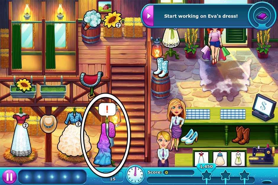 Fabulous - Angela's Wedding Disaster Collector's Edition - Level 15