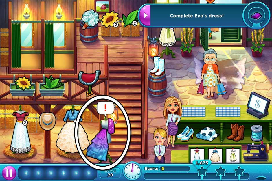 Fabulous - Angela's Wedding Disaster Collector's Edition - Level 20