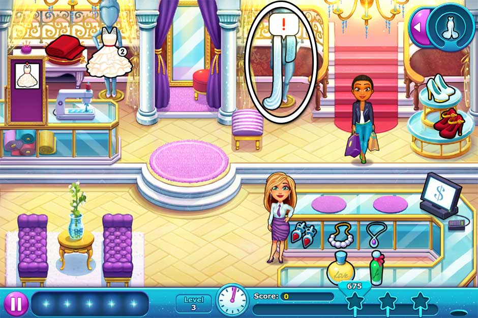 Fabulous - Angela's Wedding Disaster Collector's Edition - Level 3
