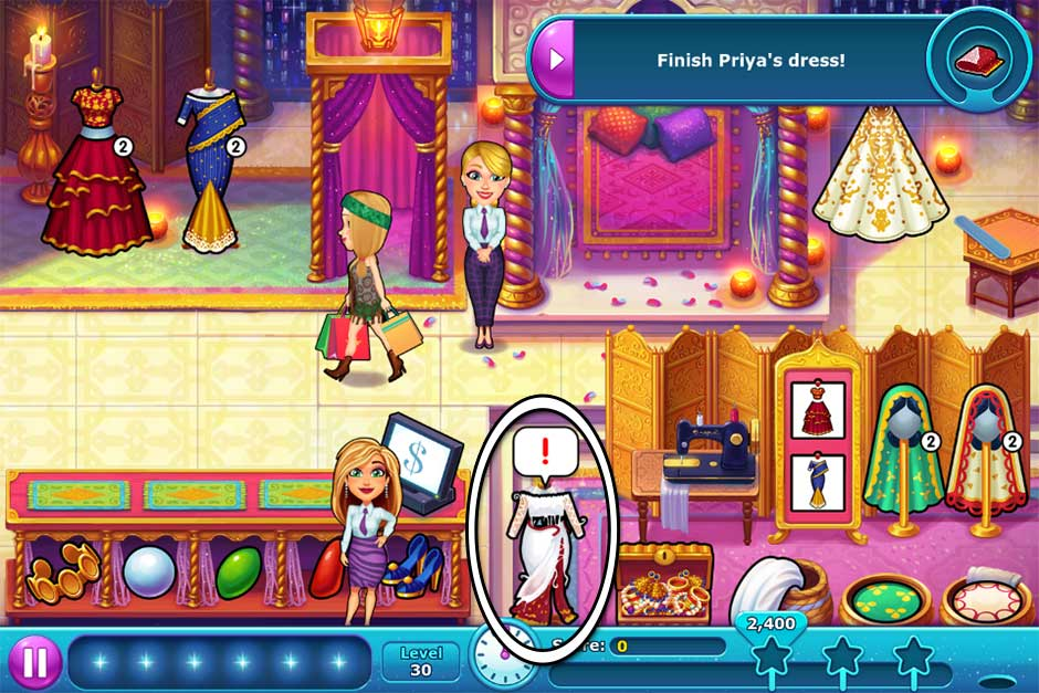 Fabulous - Angela's Wedding Disaster Collector's Edition - Level 30