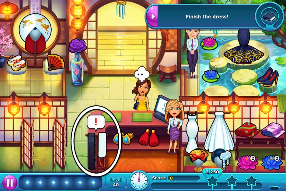 Fabulous - Angela's Wedding Disaster Collector's Edition - Level 40