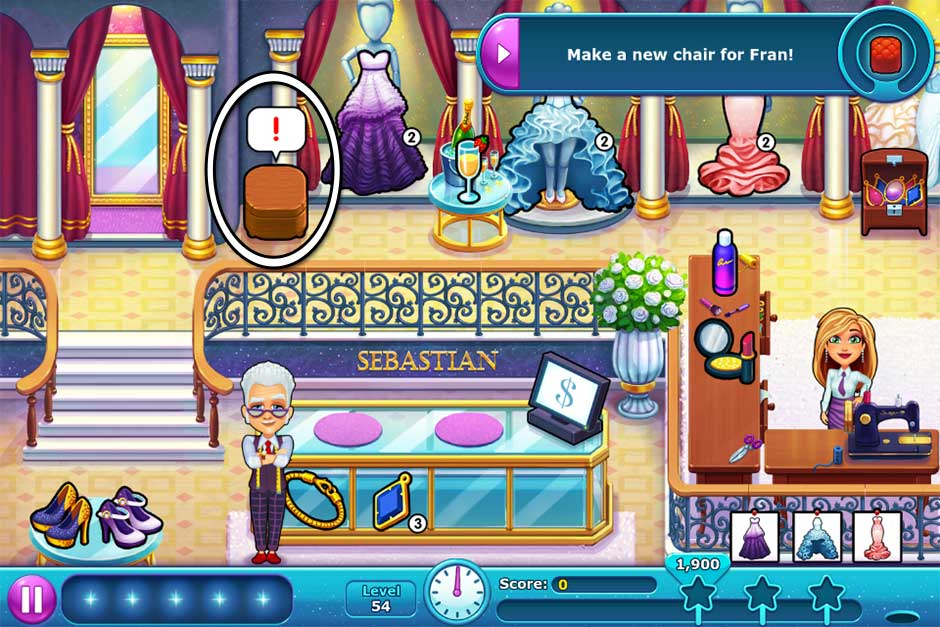 Fabulous - Angela's Wedding Disaster Collector's Edition - Level 54