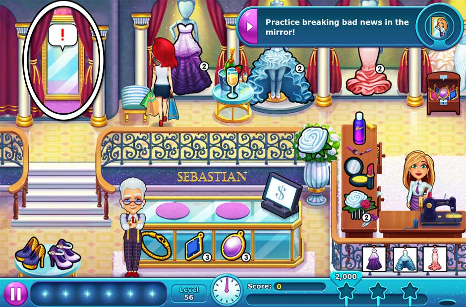 Fabulous - Angela's Wedding Disaster Collector's Edition - Level 56