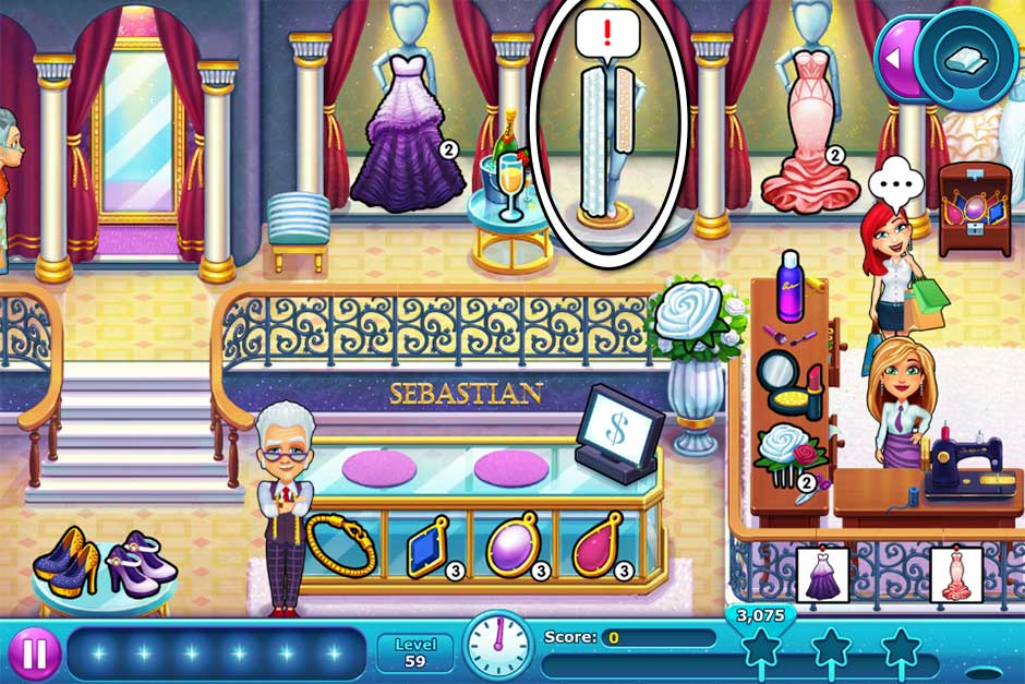 Fabulous - Angela's Wedding Disaster Collector's Edition - Level 59