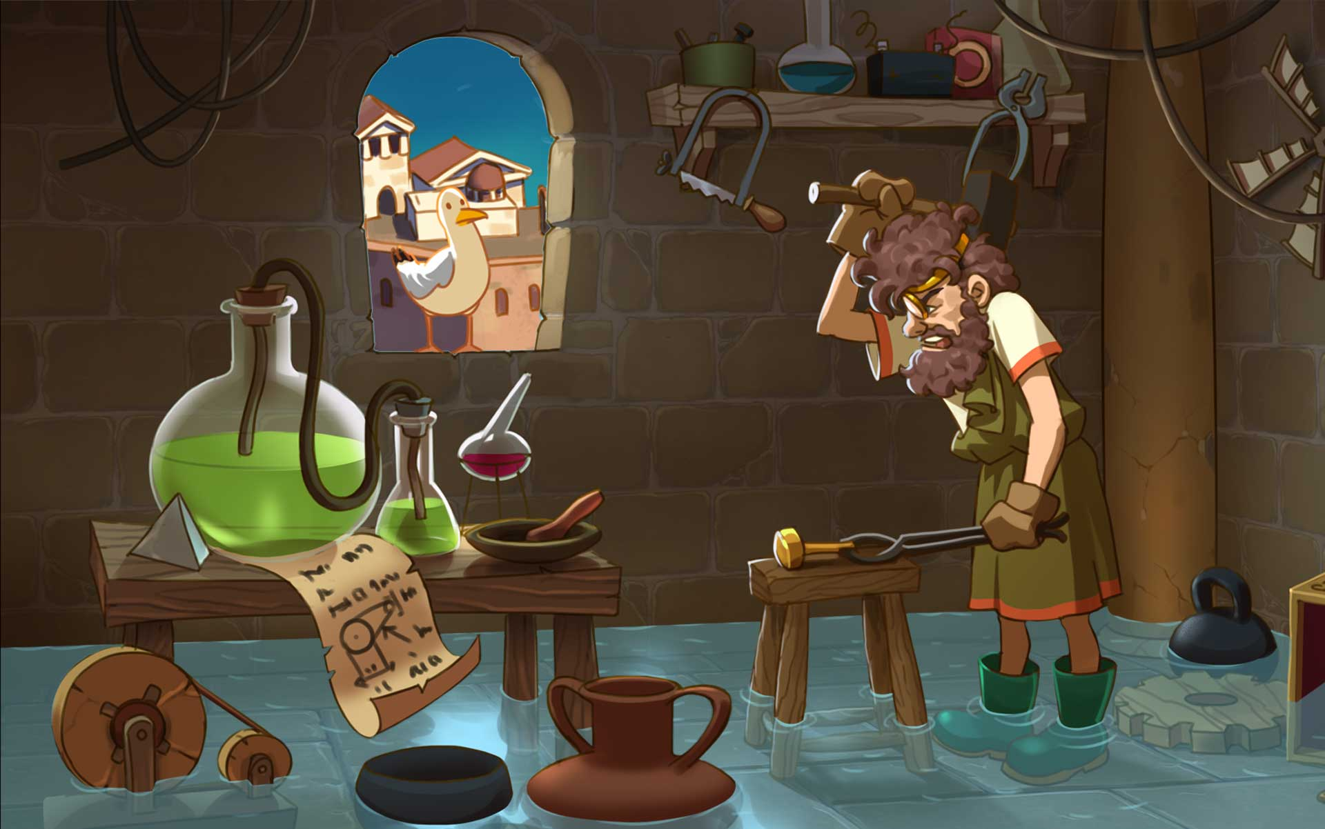 Restore Greece to Its Former Glory in Archimedes – Eureka! Collector's Edition