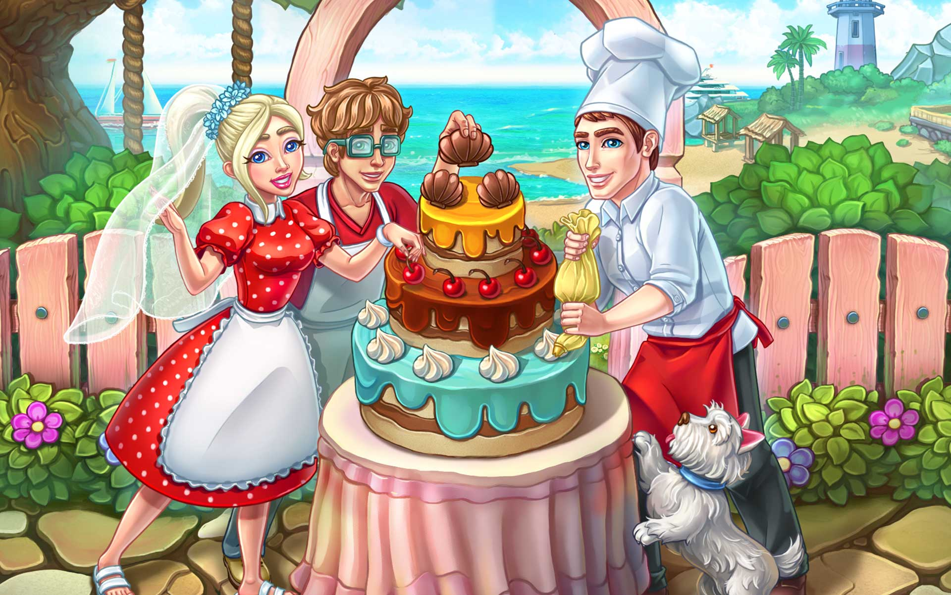 Indulge in Sweet Treats with Katy & Bob – Cake Cafe Collector's Edition