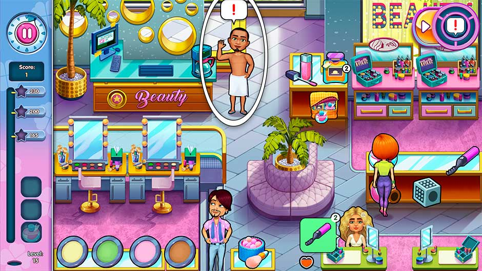 Sally's Salon - Kiss & Make-Up - Level 15
