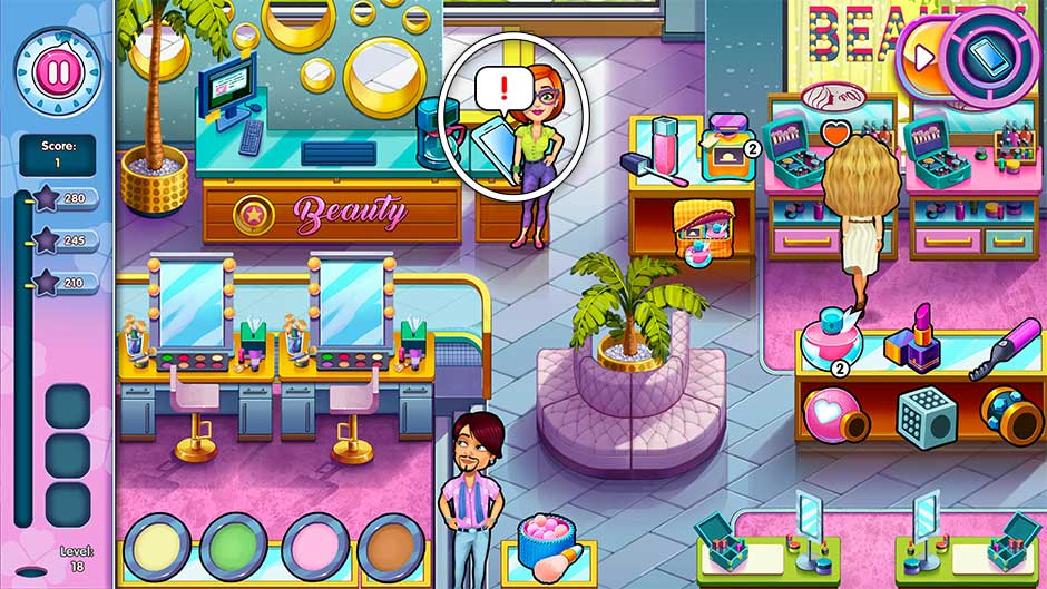 Sally's Salon - Kiss & Make-Up - Level 18
