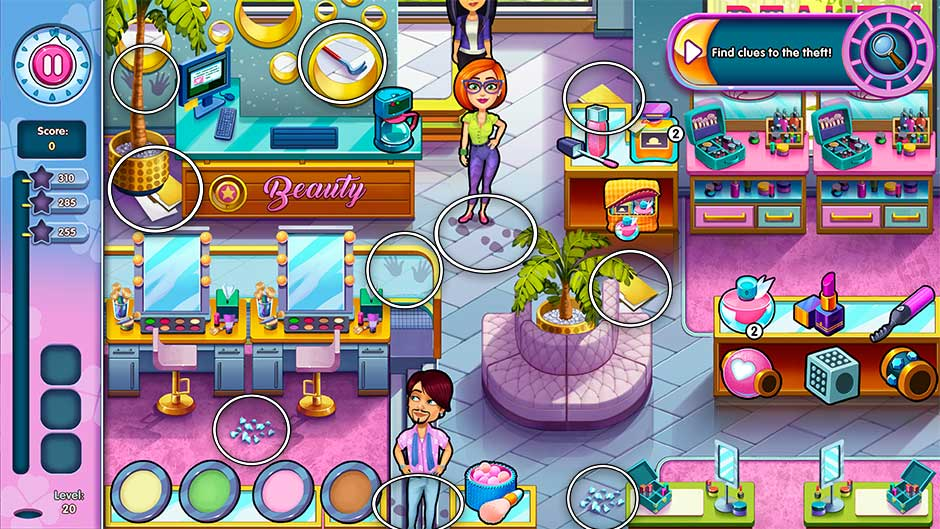 Sally's Salon - Kiss & Make-Up - Level 20